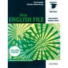 New English File intermediate Student's Book+Workbook with key+Grammar checker (Pack)