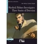 Sherlock Holmes Investigates: Three Stories of Detection (Step Three B1.2) + Audio CD