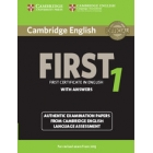 Cambridge English First 1 for Revised Exam from 2015 Student's Book with Answers