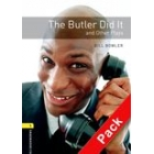 The Butler Did it and other plays + CD Audio. Stage 1  (OBP)