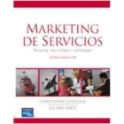 Marketing de servicios: personal, tecnologia y estrategia