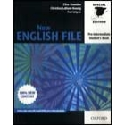 New English File Pre-intermediate Student's Book for Spain