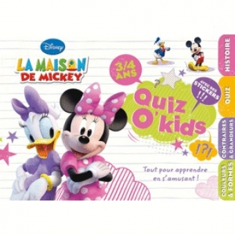 Quiz O'kids La maison de Mickey (3/4 ans) Minnie