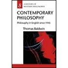 A history of western philosophy, 8: contemporary philosophy (Philosophy in english since 1945)