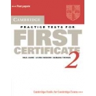 Cambridge Practice Tests for First Certificate 2. Student's Book