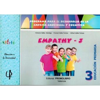 Emphaty-3. Programa para el desarrollo de la empatía emocional y cognitiva.