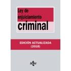 Ley de enjuiciamiento criminal (básica) 2018