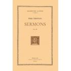 Sermons. Vol IV. (Trad de Jaume Fábregas i Baqué)
