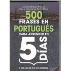 500 frases en portugués para aprender en 5 días