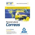 Personal Laboral de Correos y Telégrafos. Simulacros de examen. Volumen 2 (2018)