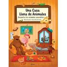 Una casa llena de animales (Encuentra los animales escondidos)
