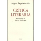 Crítica literaria. La doctrina de de Lucien Goldmann