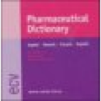 Pharmaceutical Dictionary: English-Deutsch-Français-Español  (CD-ROM)