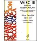 Wisc-III nuevas investigaciones.