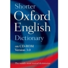 Shorter Oxford English Dictionary on CD-ROM version 3.0 ( compatible con Windows Y MAC ) 600000 entradas