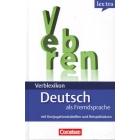 lex:tra Verblexikon Deutsch als Fremdsprache. Konjugationswörterbuch. Mit Konjugationstabellen und Beispielsätzen