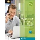 Menschen im Beruf - Telefontraining. Kursbuch mit Audio-CD