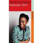 Berühmte Frauen, Kalender 2017