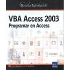VBA Access 2003. Programar en Access