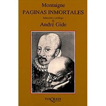 Páginas inmortales Selección de André Gide)