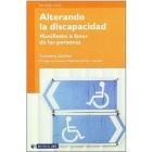 Alterando la discapacidad. Manifiesto a favor de las personas