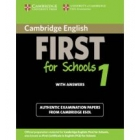 Cambridge English First for Schools 1 Student's book with answer