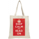 Keep Calm Tote Bag (LoveLit)