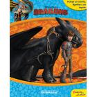 Cómo entrenar a tu dragón. Libroaventuras. Libro-juego. Incluye un tablero y figuras para jugar