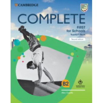 Complete First for Schools 2nd edition - Teacher's Book