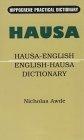 Hausa-English/English-Hausa dictionary