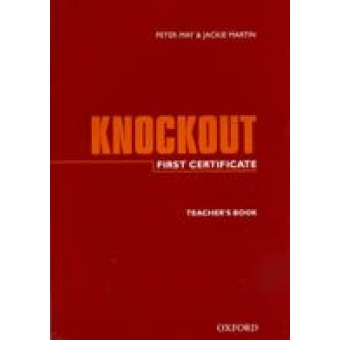 Knockout First Certificate. Workbook with key and tapescripts.