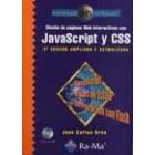 Diseño de Páginas Web interactivas con JavaScript y CSS (4ª ed. ampliada y revisada)