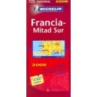 Mapa Francia sur 2006