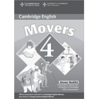 Movers 4 (Camb. Young Learners English Tests) Answer Booklet