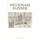 Diccionari paperer
