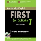 First for Schools Self-Study Pack 1