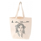 Louisa May Alcott: BabyLit Tote Bag