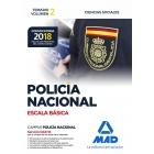 Policía Nacional Escala Básica. Temario volumen 2 Ciencias Sociales (Convocatoria 2018)