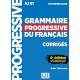 Grammaire progressive du français A2-B1 Intermédiaire : Corrigés, + 450 nouveaux tests et activités en ligne