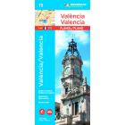 Plano València/Valencia (plano-azul) 73 1/11 000