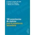190 experiencias de ciencias para la enseñanza secundaria