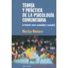 Teoría y practica de la psicologia comunitaria