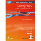 Elementary Language Practice. English Grammar and Vocabulary with key + CD-ROM (3rd Edition)
