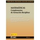 Matemáticas : Complementos de formación disciplinar.  vol I