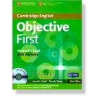 Objective First Certificate Student's with answers,CD-ROM and Class Audio CDs (Third ed.)