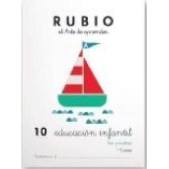 EDUCACIÓN INFANTIL 10. LOS PIRATAS (Cuadernos Rubio)