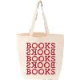 LoveLit Books Books: I Love Books Tote bag