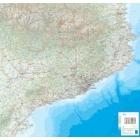 Mapa-pòster de Catalunya Escala 1:250.000