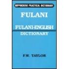 Fulani-English dictionary