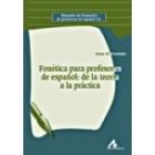 Fonética para profesores de español: de la teoría a la práctica